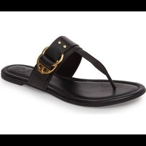 Tory Burch flat thong sandals size 6.5